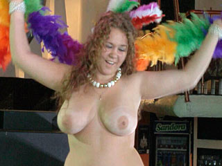 Naked female carnival